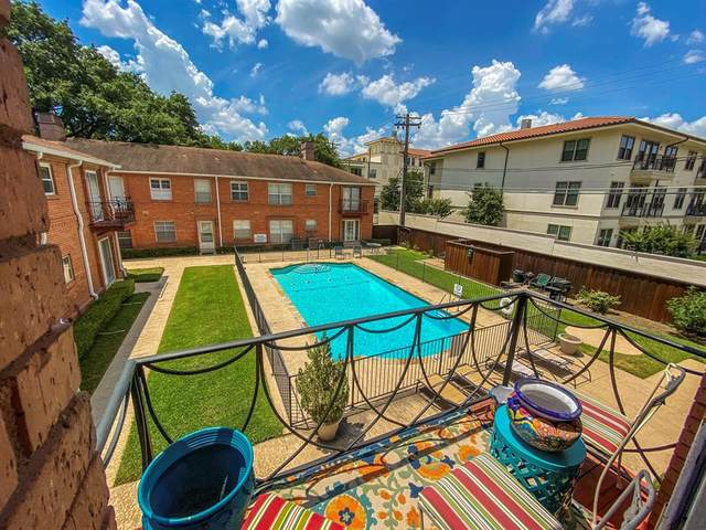 6109 Bandera Avenue 6109C, Dallas, TX 75225 (MLS #14366874) :: EXIT Realty Elite