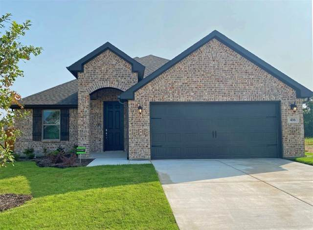 416 Paloma Street, Weatherford, TX 76087 (MLS #14384260) :: Real Estate By Design