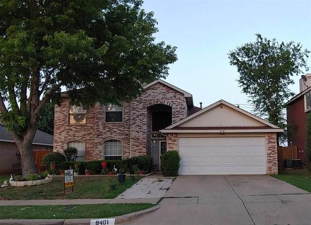 8401 Clearbrook Drive, Fort Worth, TX 76123 (MLS #14387004) :: Frankie Arthur Real Estate