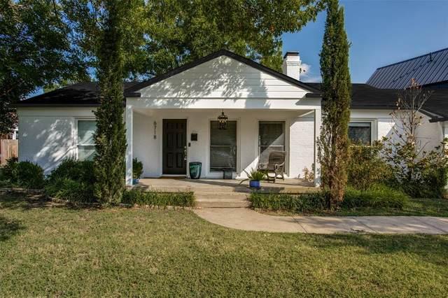6718 Starling Circle, Dallas, TX 75209 (MLS #14416570) :: Team Tiller