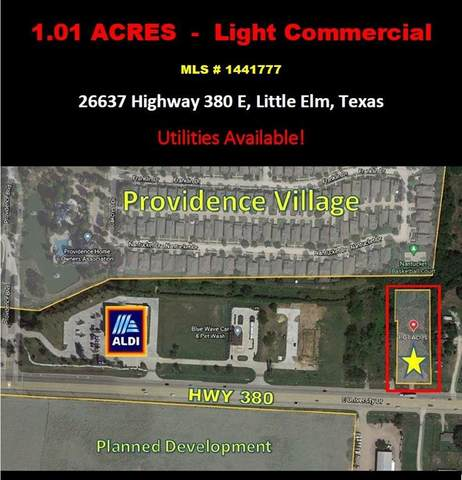 26637 E Us Highway 380, Little Elm, TX 76227 (MLS #14417777) :: The Hornburg Real Estate Group