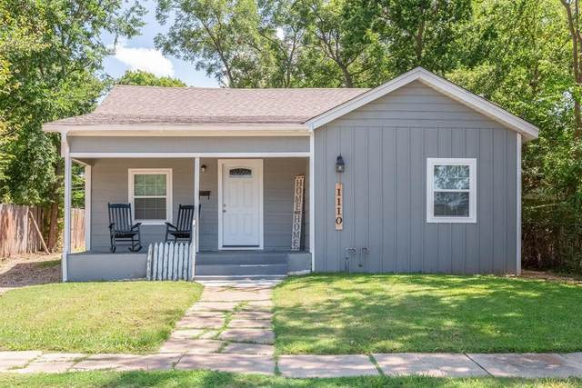 1110 Chestnut Street, Bonham, TX 75418 (MLS #14427514) :: The Hornburg Real Estate Group