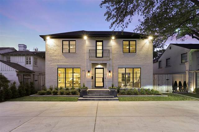 4512 Mockingbird Lane, University Park, TX 75205 (MLS #14459054) :: The Tierny Jordan Network