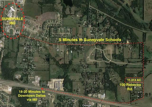 100 Rebecca Road, Sunnyvale, TX 75182 (MLS #14466731) :: The Chad Smith Team