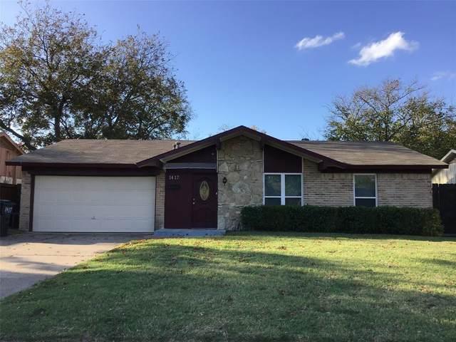 1417 Ridgecrest Drive, Plano, TX 75074 (MLS #14469430) :: Real Estate By Design