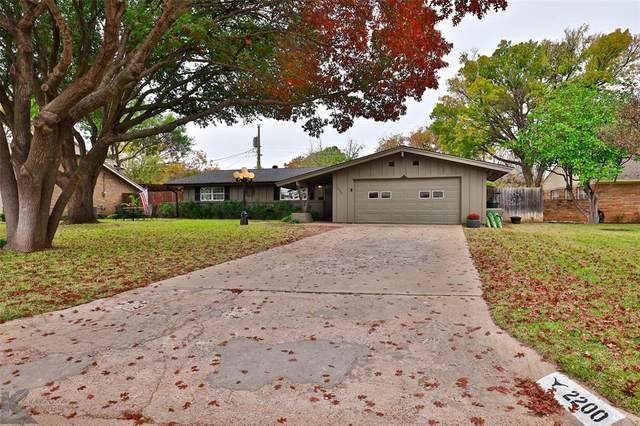 2200 Hollis Drive, Abilene, TX 79605 (MLS #14471070) :: Keller Williams Realty
