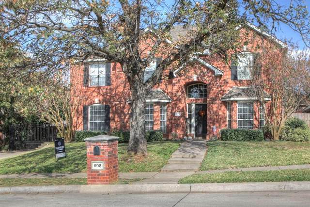 805 Heather Lane, Keller, TX 76248 (MLS #14471769) :: Keller Williams Realty