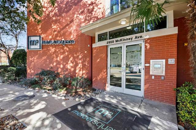 2950 Mckinney Avenue #218, Dallas, TX 75204 (MLS #14477408) :: The Hornburg Real Estate Group