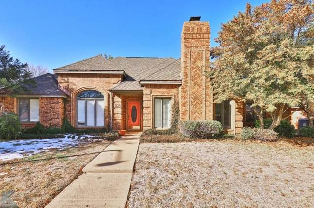 5510 Piping Rock Drive, Abilene, TX 79606 (MLS #14497614) :: The Mauelshagen Group