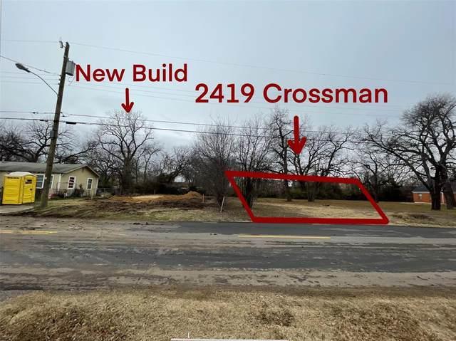 2419 Crossman Avenue, Dallas, TX 75212 (MLS #14505290) :: All Cities USA Realty