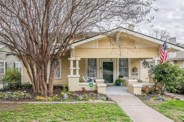 1813 Ashland Avenue, Fort Worth, TX 76107 (MLS #14509672) :: The Kimberly Davis Group