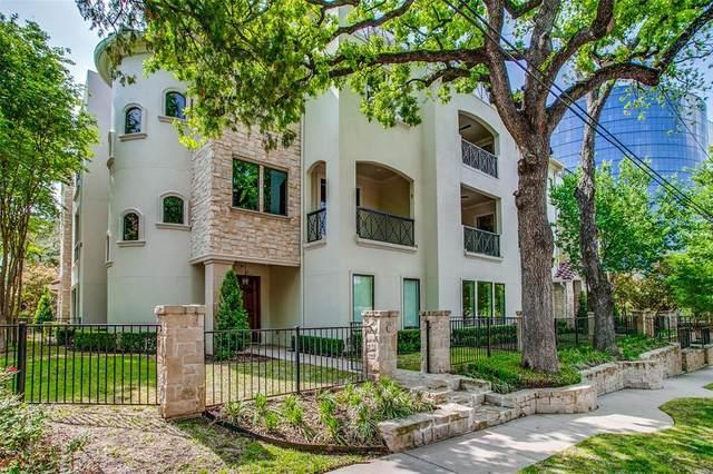 3535 Routh Street B, Dallas, TX 75219 (MLS #14555949) :: VIVO Realty