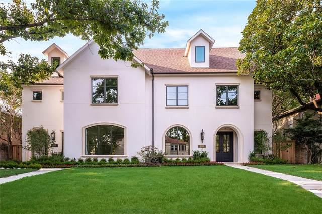 4546 Westway Avenue, Highland Park, TX 75205 (MLS #14560826) :: The Good Home Team