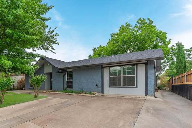 1043 Elmwood Drive, Lewisville, TX 75067 (MLS #14561087) :: Real Estate By Design