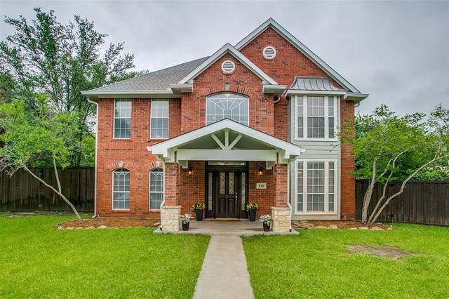 836 Lakeview Court, Coppell, TX 75019 (MLS #14579007) :: Real Estate By Design