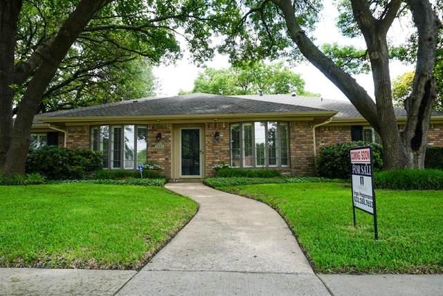 2820 Prairie Creek Drive, Plano, TX 75075 (MLS #14586799) :: Real Estate By Design