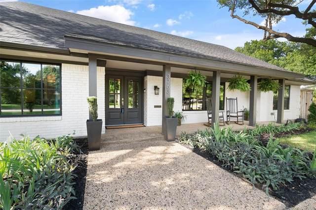 3763 Townsend Drive, Dallas, TX 75229 (MLS #14601198) :: Real Estate By Design
