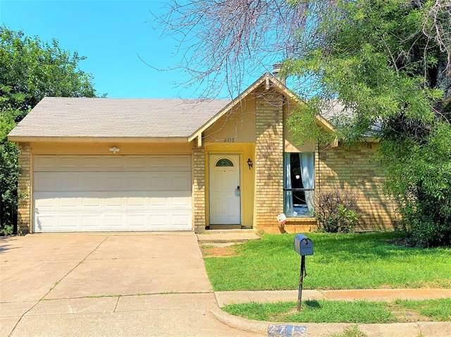 2713 Escalante Avenue, Fort Worth, TX 76112 (MLS #14604578) :: The Chad Smith Team