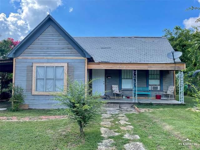 704 W 4th Street, Cisco, TX 76437 (MLS #14621923) :: Lisa Birdsong Group | Compass