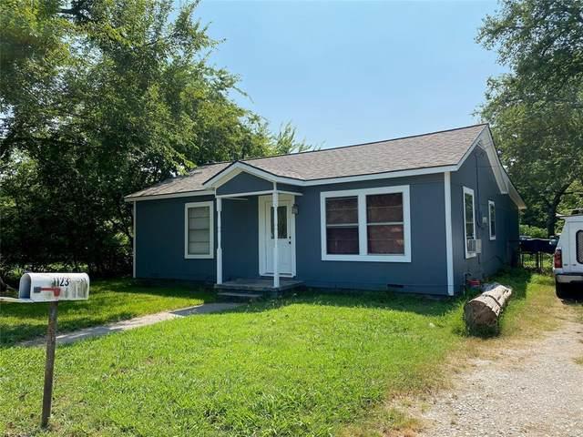 1123 S Wine Street, Gainesville, TX 76240 (MLS #14642131) :: Lisa Birdsong Group | Compass