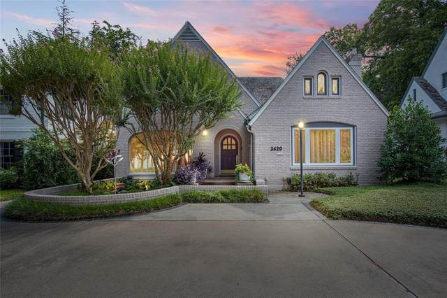 3620 Armstrong Avenue, Dallas, TX 75205 (MLS #14668914) :: The Chad Smith Team