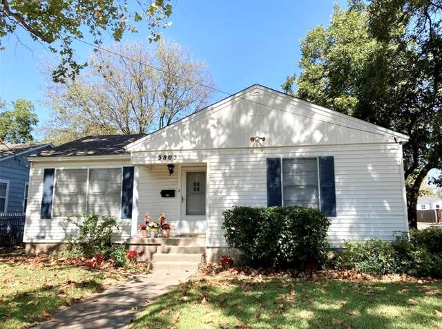 3803 Poinsettia Drive, Dallas, TX 75211 (MLS #14677618) :: The Krissy Mireles Team