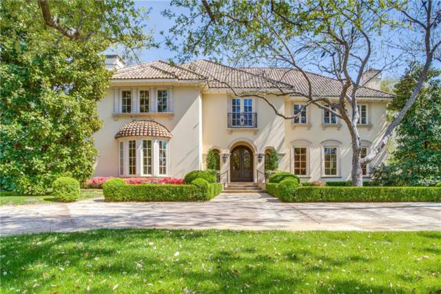 9700 Audubon Place, Dallas, TX 75220 (MLS #13519902) :: The Mitchell Group