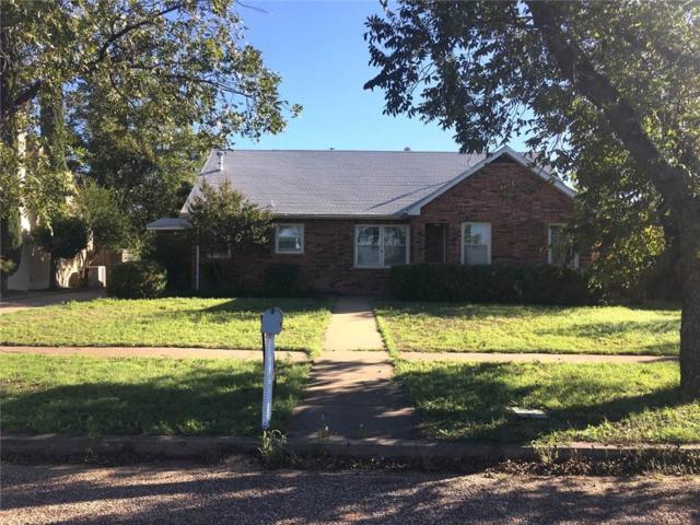 916 Wesleyan Street, Stamford, TX 79553 (MLS #13664462) :: Team Hodnett