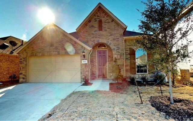 6513 Roaring Creek Drive, Denton, TX 76226 (MLS #13678594) :: Team Hodnett