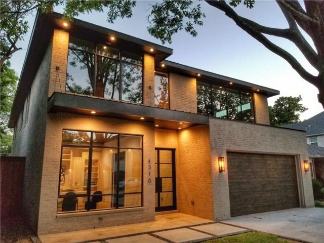 4516 W Amherst Avenue, Dallas, TX 75209 (MLS #13830281) :: Team Hodnett