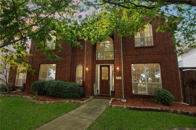 824 Idlewood Drive, Allen, TX 75002 (MLS #13928762) :: Kimberly Davis & Associates