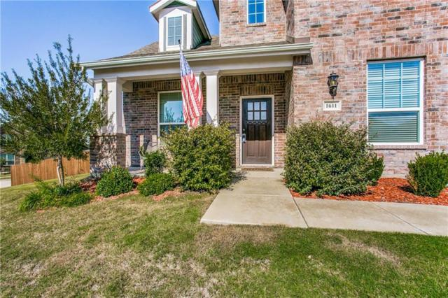 1611 Ringtail Drive, Wylie, TX 75098 (MLS #13945594) :: The Chad Smith Team