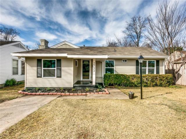 2733 Mayhew Drive, Dallas, TX 75228 (MLS #13994924) :: Kimberly Davis & Associates