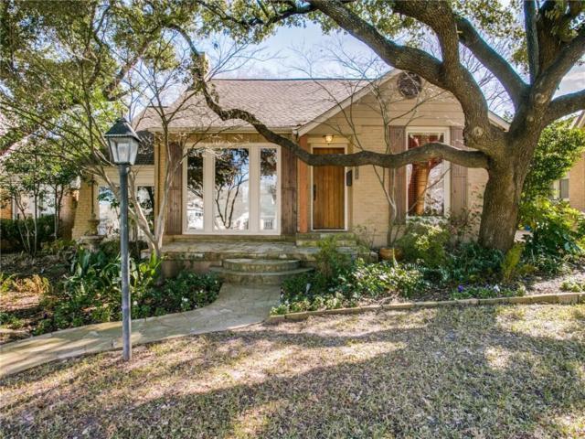 6918 Hammond Avenue, Dallas, TX 75223 (MLS #14004949) :: RE/MAX Town & Country