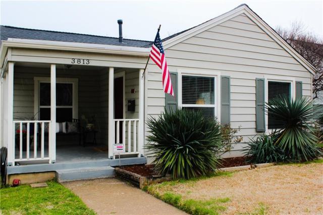 3813 Collinwood Avenue, Fort Worth, TX 76107 (MLS #14008473) :: RE/MAX Landmark