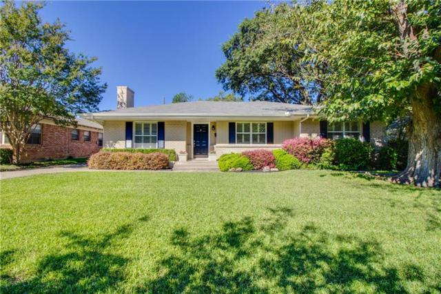 6415 Highgate Lane, Dallas, TX 75214 (MLS #14013741) :: The Heyl Group at Keller Williams