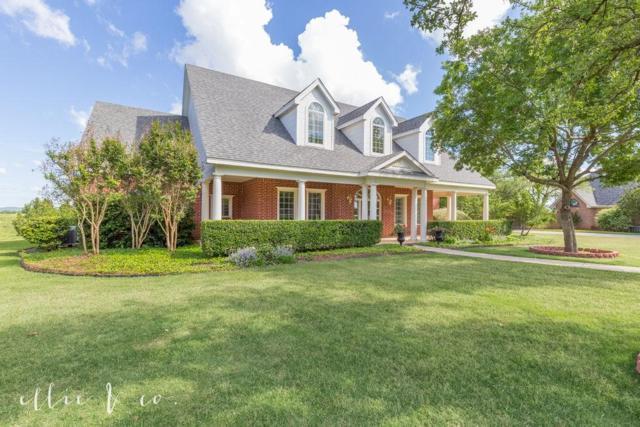 1209 S Saddle Lakes Drive, Abilene, TX 79602 (MLS #14069426) :: Lynn Wilson with Keller Williams DFW/Southlake