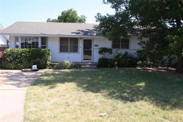 1718 Rose Avenue, Sweetwater, TX 79556 (MLS #14114630) :: The Real Estate Station
