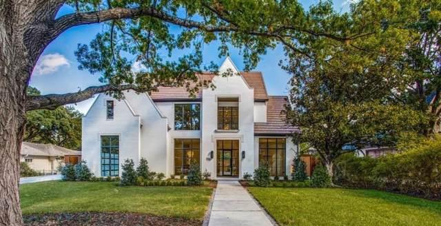 6043 Stefani Drive, Dallas, TX 75225 (MLS #14134863) :: Keller Williams Realty