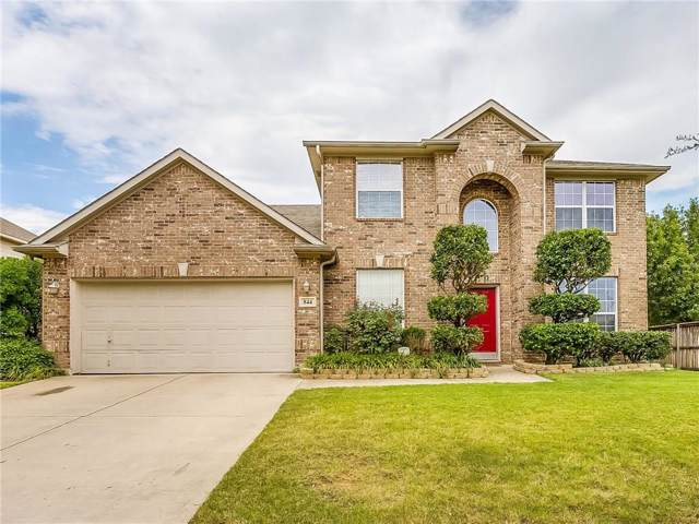 844 Sequoia Way, Saginaw, TX 76131 (MLS #14152293) :: RE/MAX Town & Country