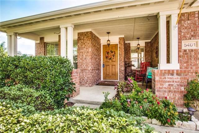 5401 Balmorhea Drive, Denton, TX 76226 (MLS #14176586) :: Real Estate By Design