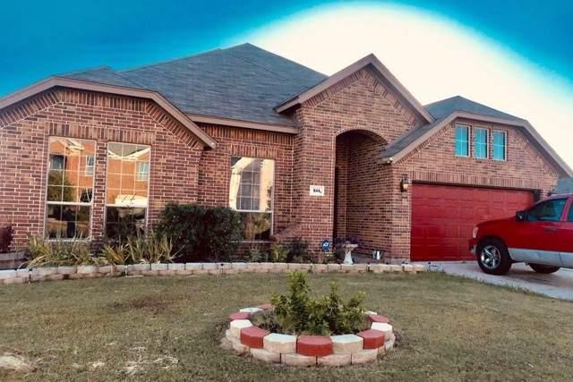 844 Peach Lane, Burleson, TX 76028 (MLS #14227775) :: The Mitchell Group