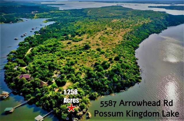 5587 Arrowhead Road, Possum Kingdom Lake, TX 76450 (MLS #14352039) :: Hargrove Realty Group