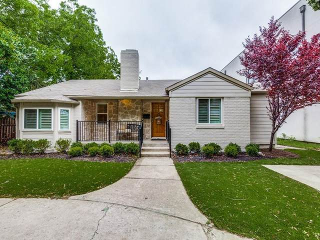 7807 Lovers Lane, Dallas, TX 75225 (MLS #14554752) :: All Cities USA Realty