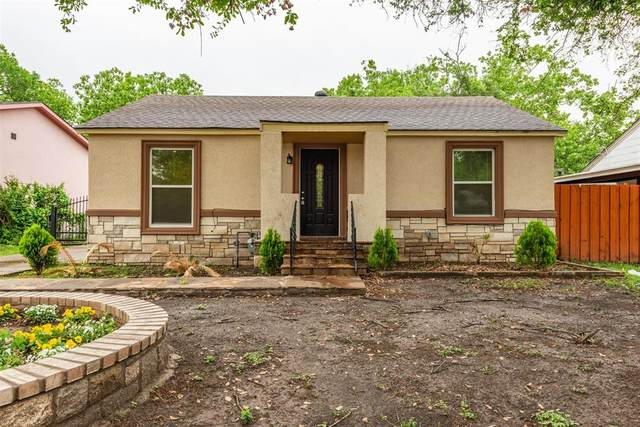 2212 N Chandler Drive, Fort Worth, TX 76111 (MLS #14567543) :: The Kimberly Davis Group