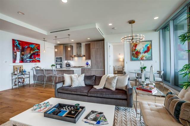 3130 N Harwood Street #802, Dallas, TX 75201 (MLS #14623553) :: Robbins Real Estate Group