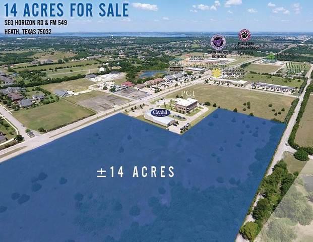 00 Jeff Boyd Road, Heath, TX 75087 (MLS #13572680) :: All Cities USA Realty