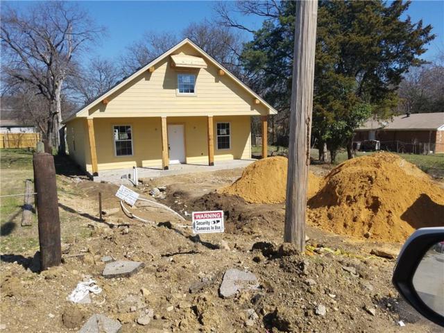 1321 Blodgett Avenue, Fort Worth, TX 76115 (MLS #13732546) :: Team Hodnett