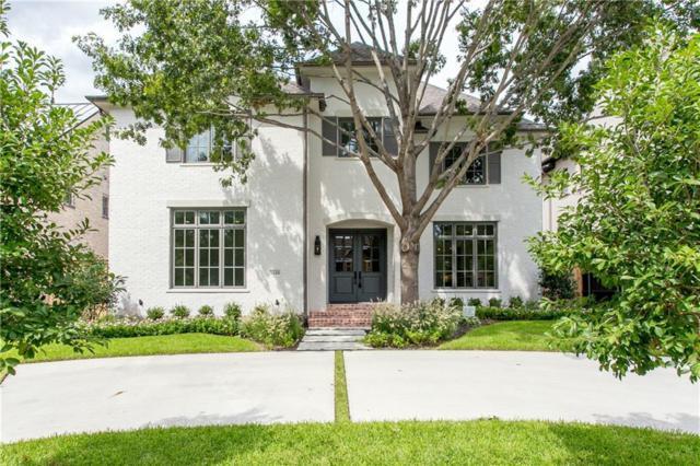 3540 Mcfarlin Boulevard, University Park, TX 75205 (MLS #13819023) :: Frankie Arthur Real Estate