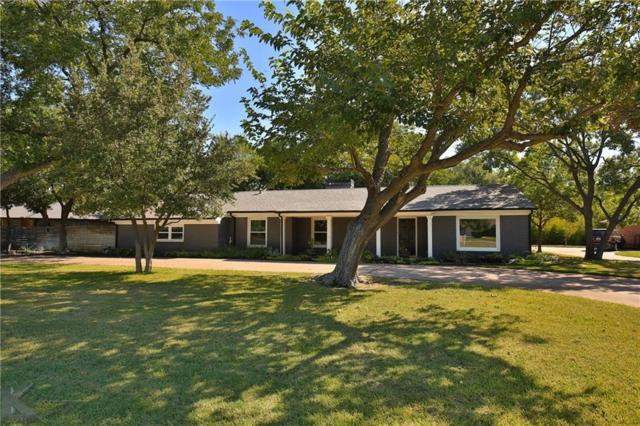 1409 Elmwood Drive, Abilene, TX 79605 (MLS #13854651) :: RE/MAX Town & Country